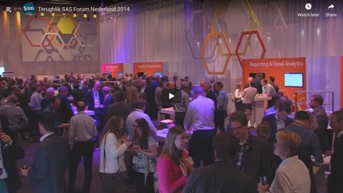 SAS Netherlands Forum 2014 video