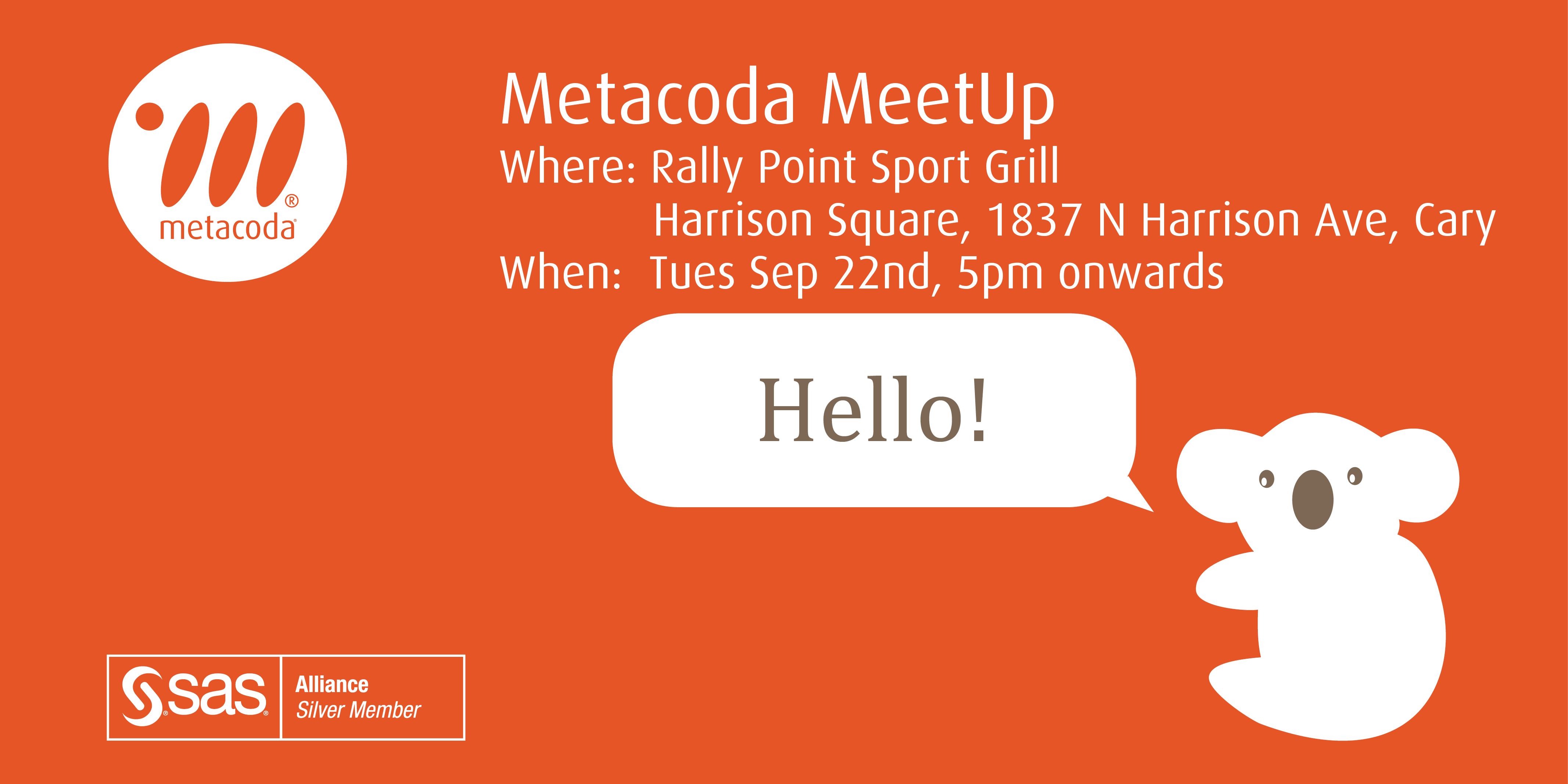 Metacoda MeetUp