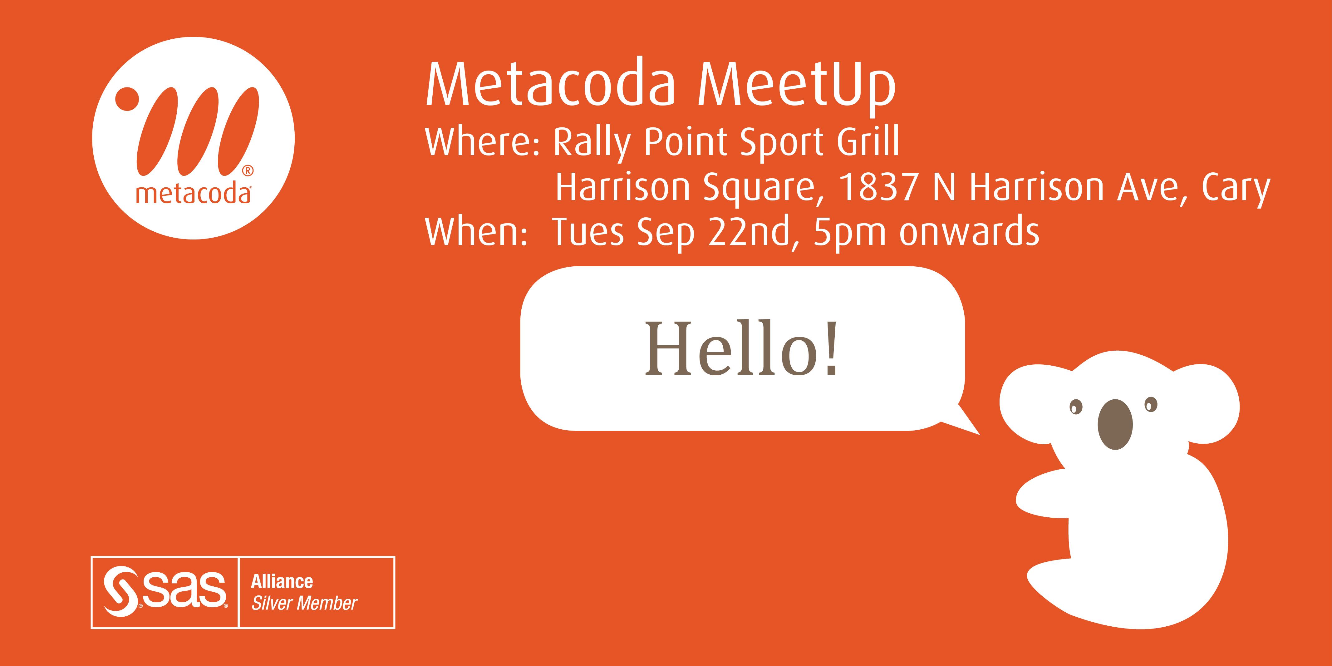 Metacoda MeetUp