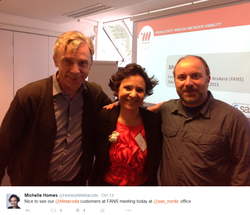 Oslo: Meeting Metacoda Customers