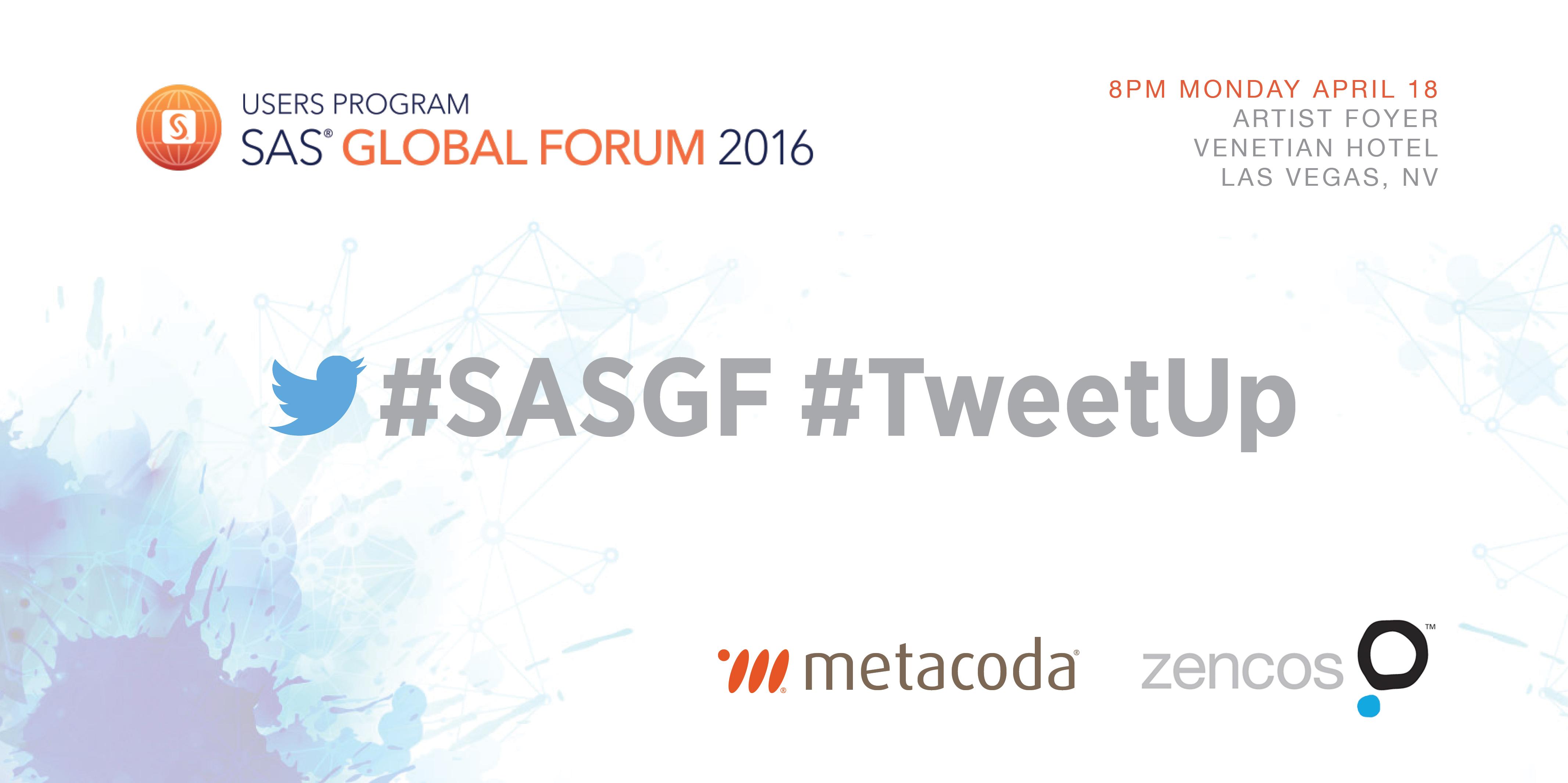 SASGF 2016 TweetUp
