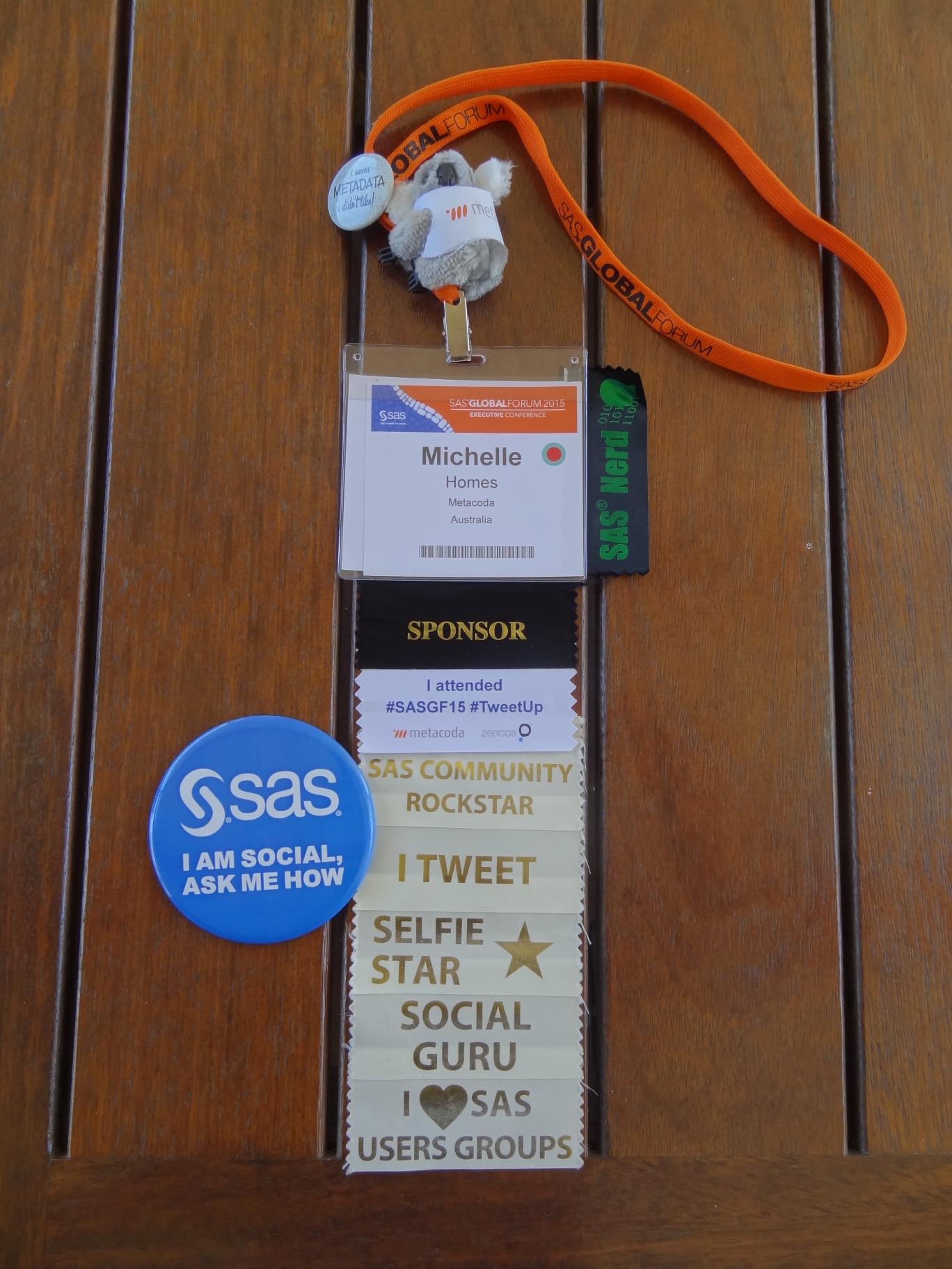 Start your #SASGF social plans!