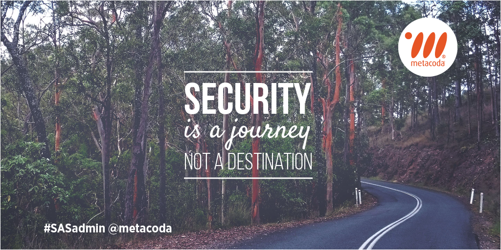 Metacoda - Security is a Journey