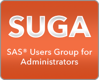 SUGA - SAS User Group for Administrators