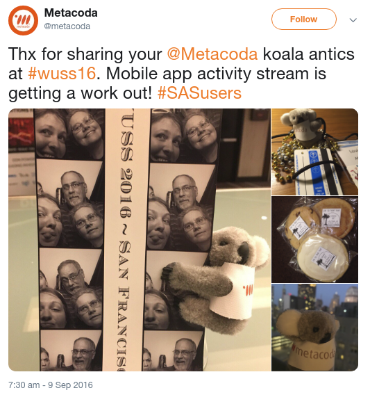 Metacoda Tweet