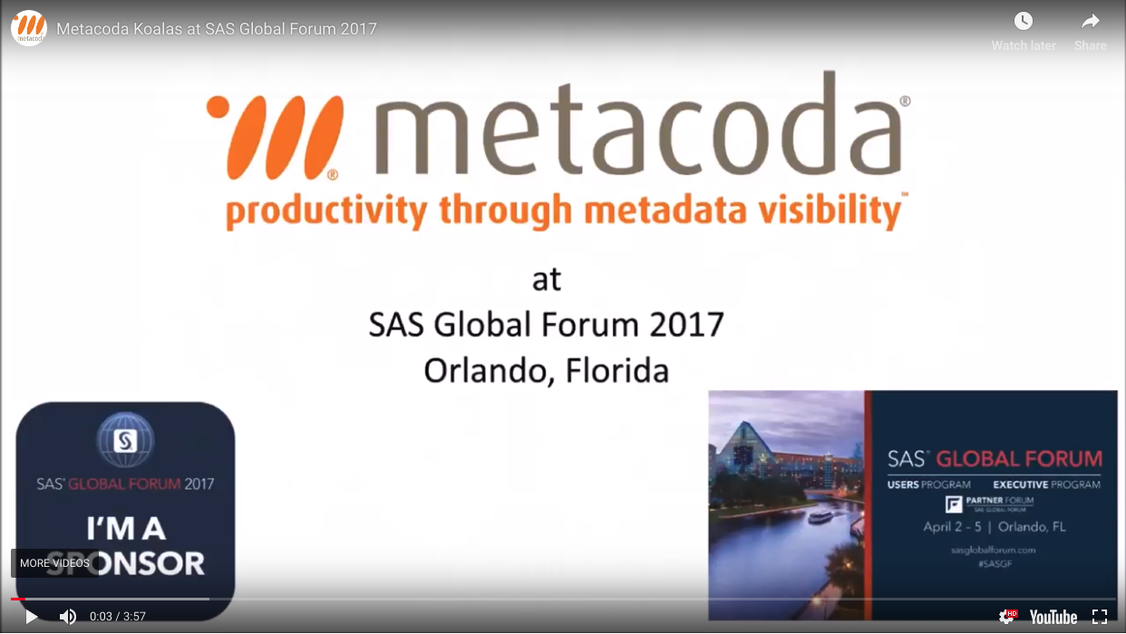 Metacoda SASGF 2017 video