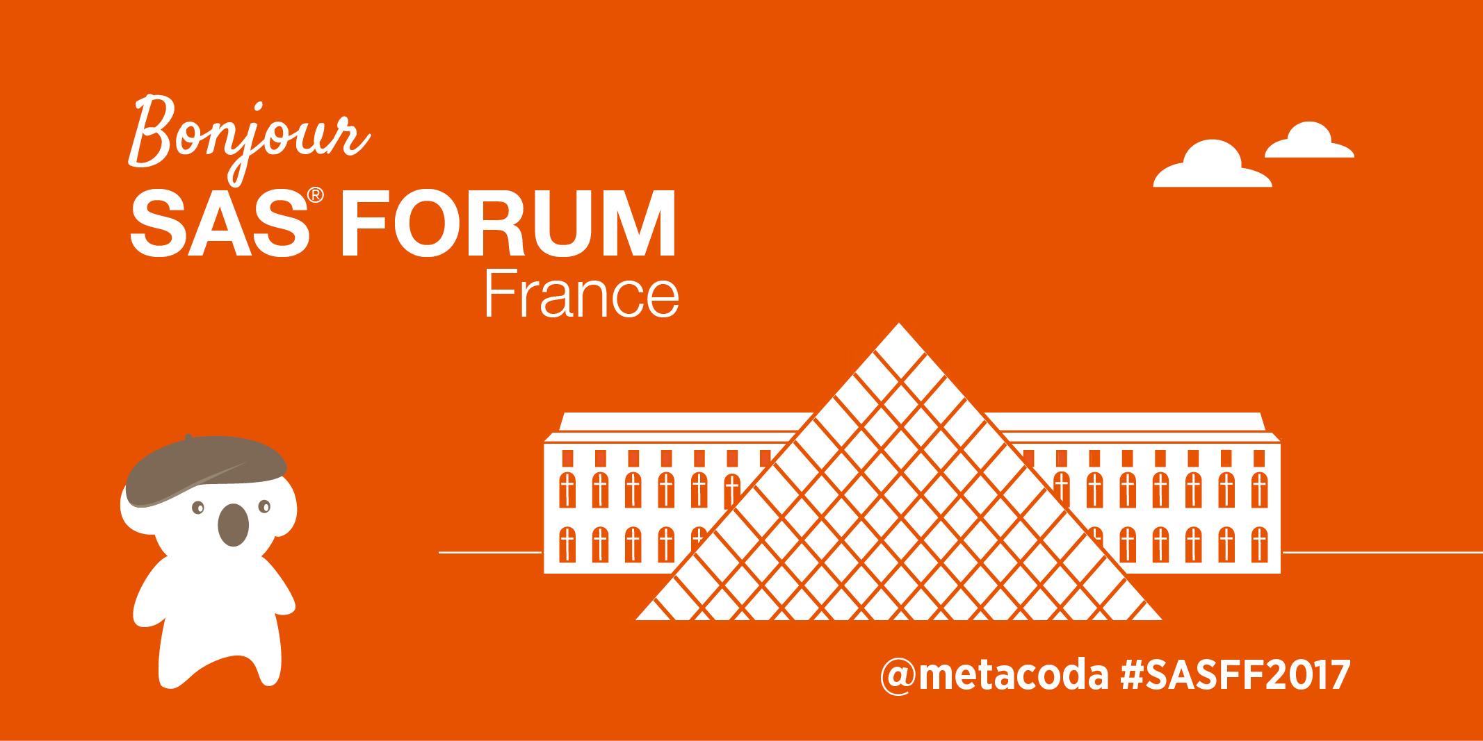 Metacoda SAS Forum France 2017 Social Tile