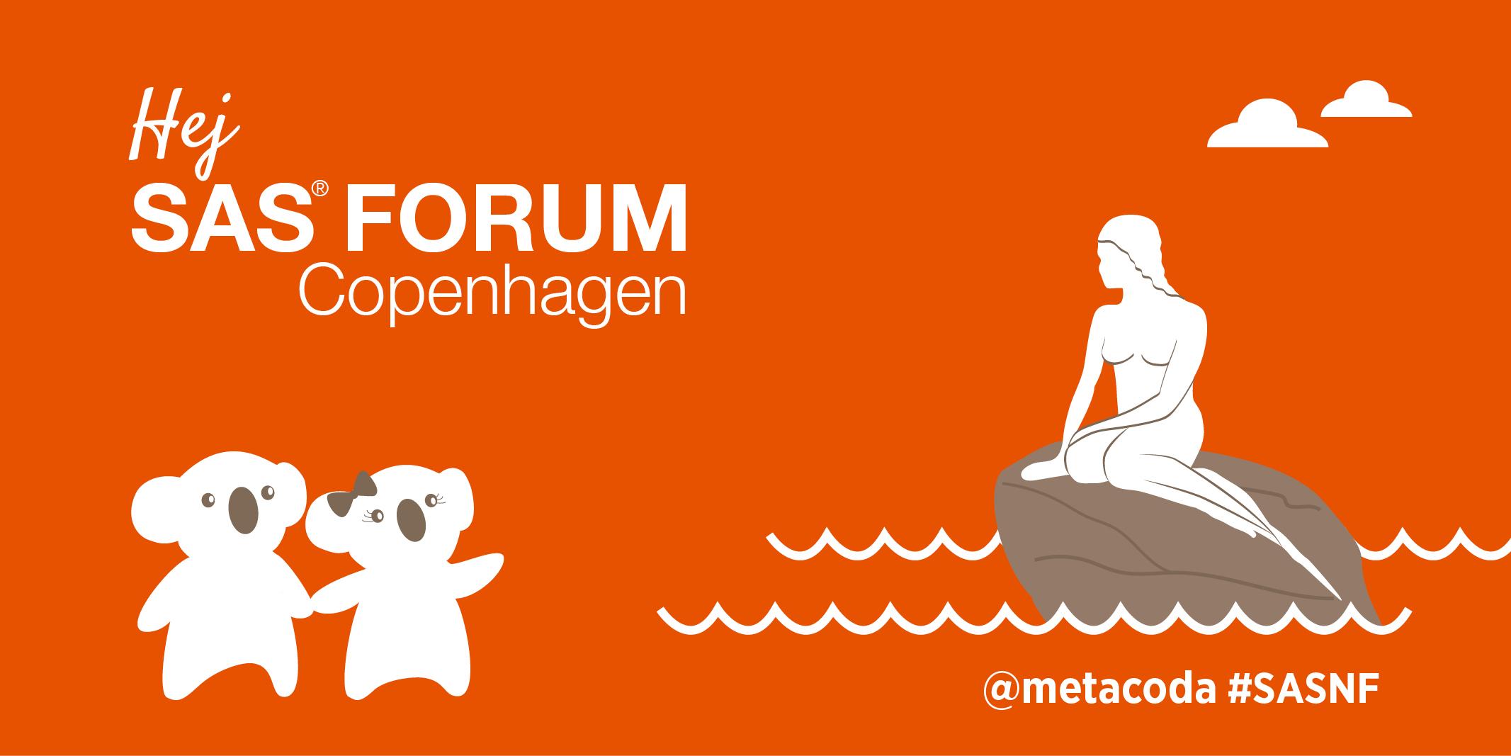 Metacoda SAS Forum Copenhagen 2017 Social Tile