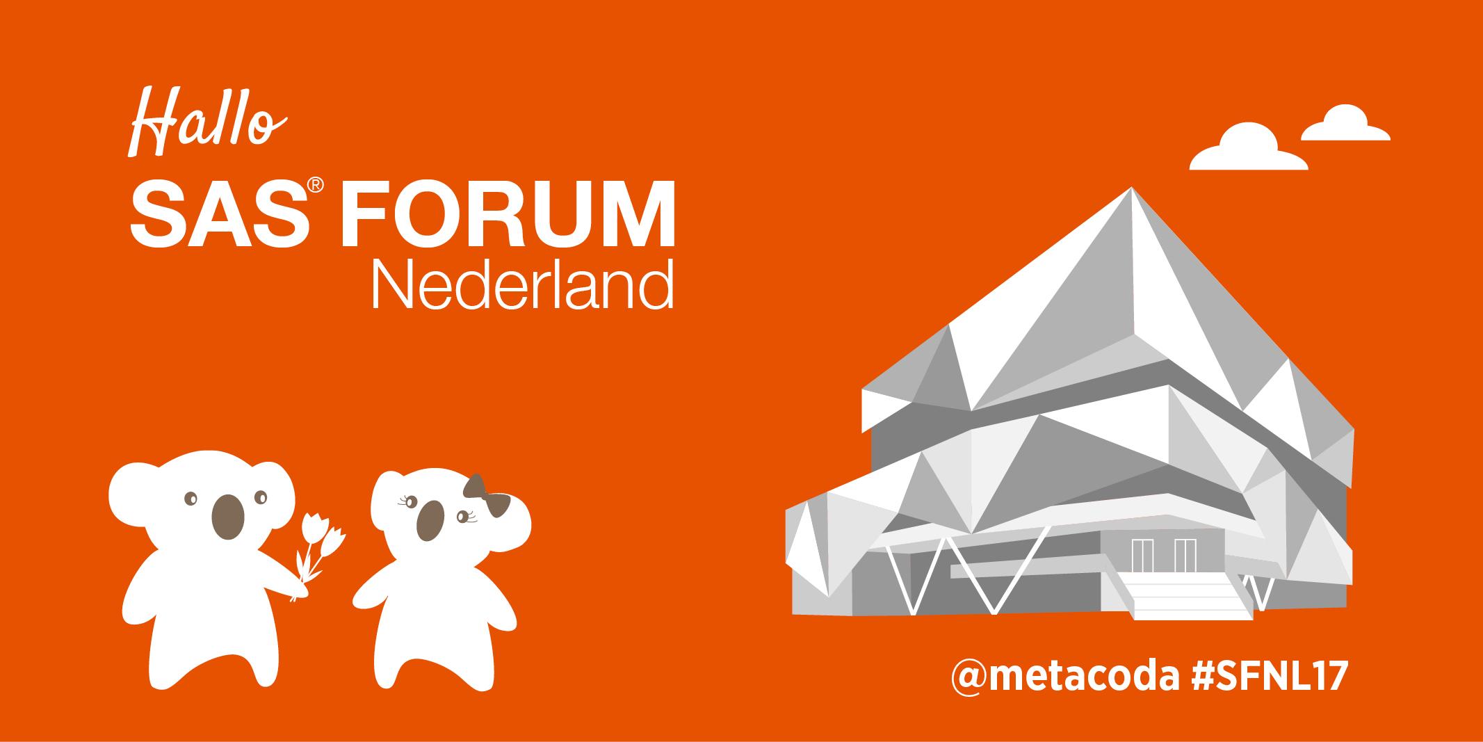 Metacoda SAS Forum Nederland 2017 Social Tile