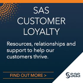 SAS Customer Loyalty Logo