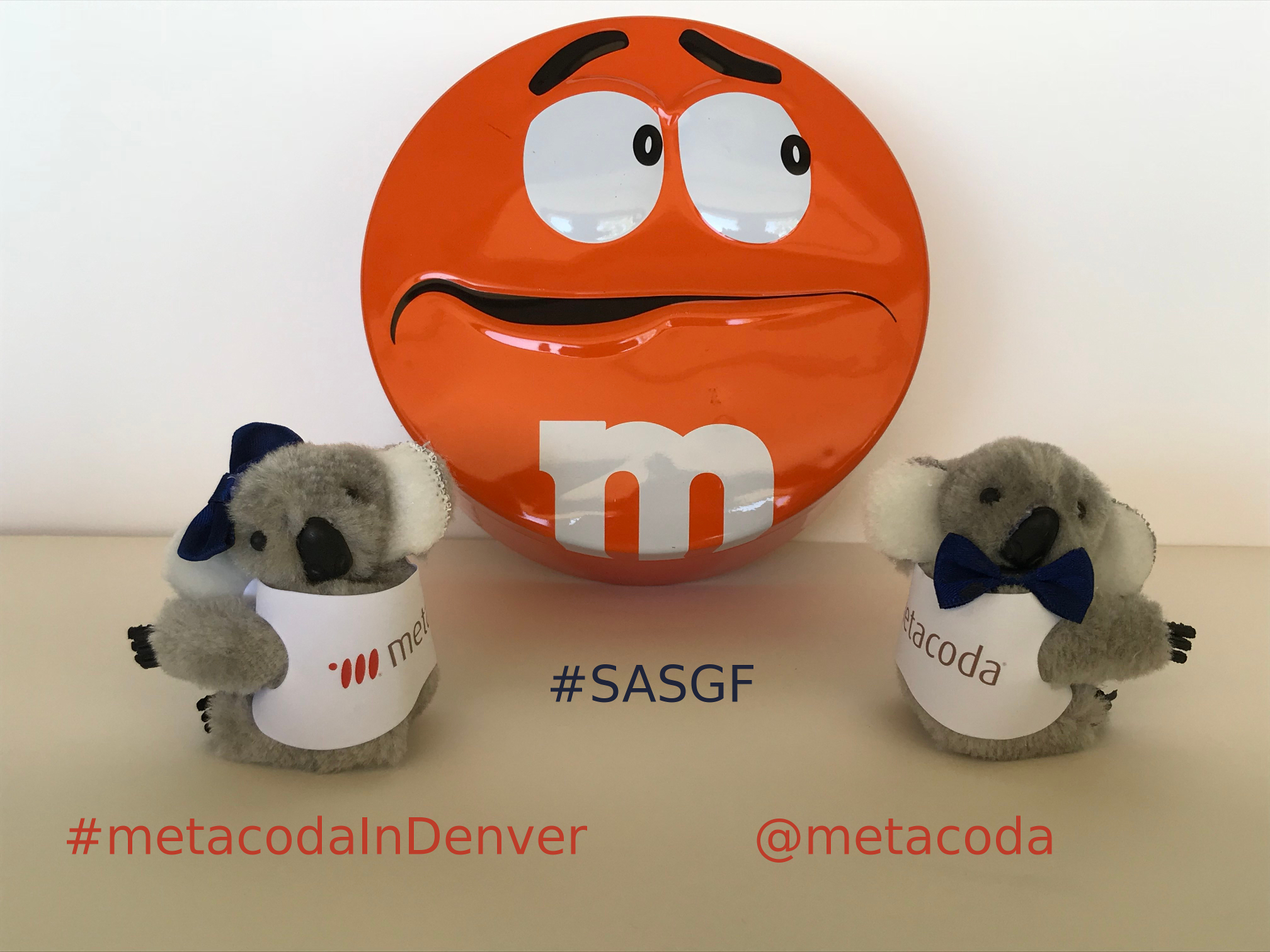 Have a sweet treat in The Den at SASGF! #metacodaInDenver