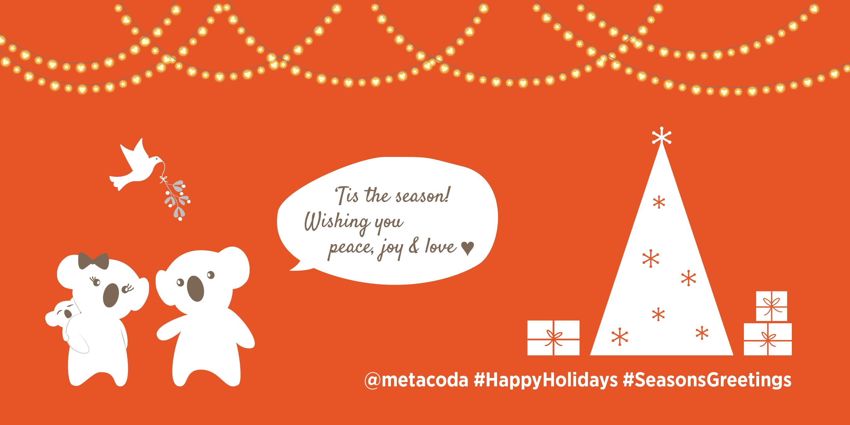 Metacoda Koala Christmas social image
