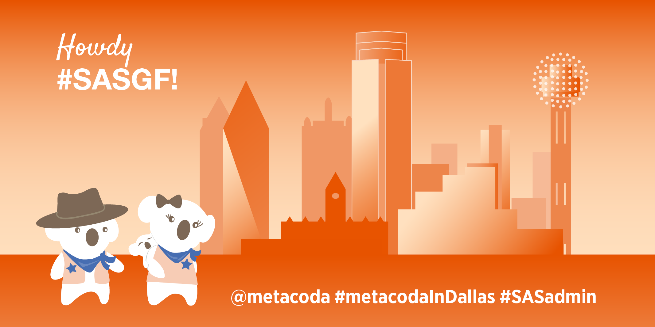 Metacoda SASGF2019 Dallas Social