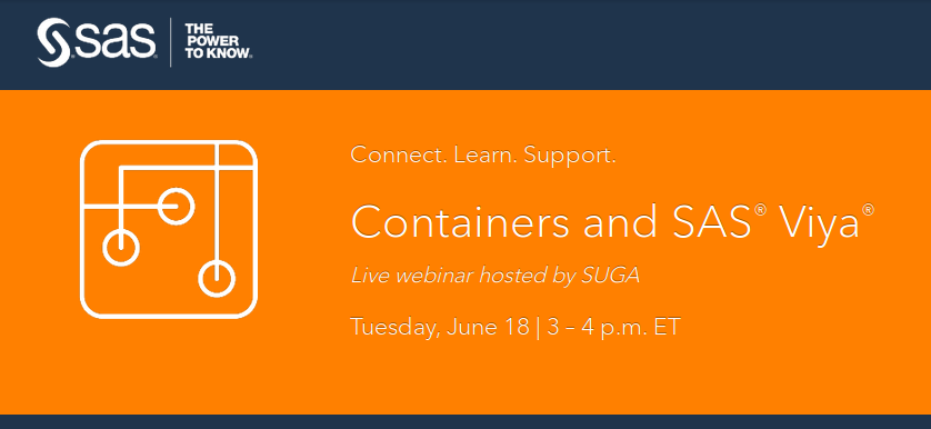 Containers and SAS Viya webinar