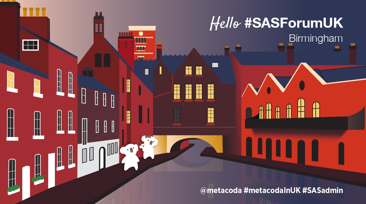 Metacoda Social - SAS Forum UK 2019