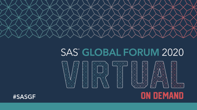 #SASGF virtual conference on demand