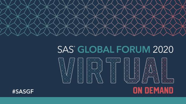 #SASGF virtual conference on demand