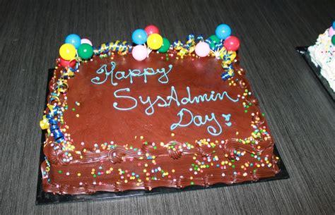 SysAdminDay cake