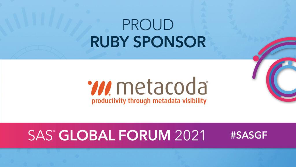 Metacoda - SAS Global Forum 2021 sponsor