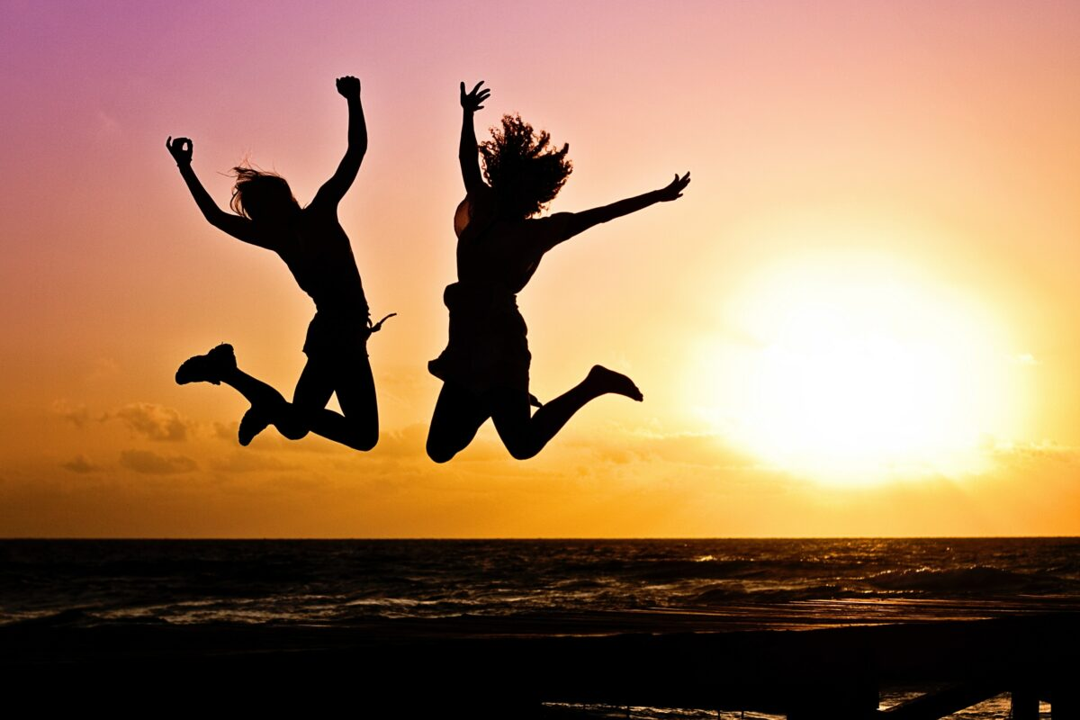 Jumping for Joy - Photo by Jill Wellington from Pexels